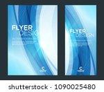 business brochure cover or... | Shutterstock .eps vector #1090025480