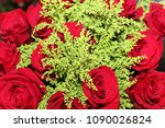 beautiful flowers bloming in... | Shutterstock . vector #1090026824