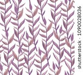 purple exotic branches... | Shutterstock . vector #1090028036