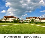 residential buildings at ferney ... | Shutterstock . vector #1090045589