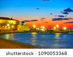 sea front and old port of...   Shutterstock . vector #1090053368