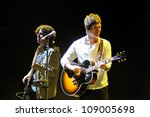 Small photo of BENICASSIM, SPAIN - JULY 14: Noel Gallagher's High Flying Birds band performs at FIB on July 14, 2012 in Benicassim, Spain. Festival Internacional de Benicassim.