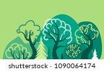world environment day. earth... | Shutterstock .eps vector #1090064174
