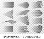 speed line collection. black... | Shutterstock .eps vector #1090078460