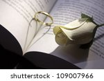 Gold Ring And Book A Romantic...