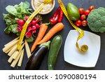 organic food background | Shutterstock . vector #1090080194