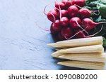 organic food background | Shutterstock . vector #1090080200