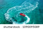 Aerial Photo Of Jet Ski With...