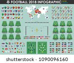 football or soccer cup... | Shutterstock .eps vector #1090096160