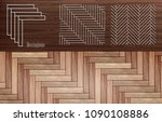 Stock vector laminate herringbone vector 1090108886