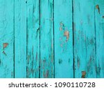 blue wood texture. old shabby... | Shutterstock . vector #1090110728