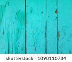 blue wood texture. old shabby... | Shutterstock . vector #1090110734