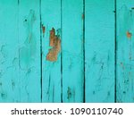 blue wood texture. old shabby... | Shutterstock . vector #1090110740