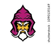 mascot icon illustration of... | Shutterstock . vector #1090135169