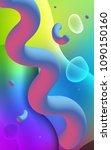 light multicolor vertical... | Shutterstock . vector #1090150160