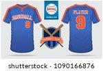 baseball jersey  sport uniform  ... | Shutterstock .eps vector #1090166876
