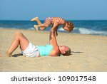 happy family | Shutterstock . vector #109017548