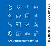 modern  simple vector icon set...   Shutterstock .eps vector #1090184684