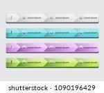 web site design menu navigation ...