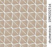 classic leaves art deco... | Shutterstock .eps vector #1090202516