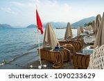 turkey   august 18  2017  red... | Shutterstock . vector #1090233629