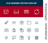 modern  simple vector icon set... | Shutterstock .eps vector #1090235216