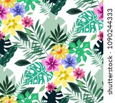 beautiful seamless pattern with ...   Shutterstock .eps vector #1090244333