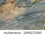 rust stone texture  the texture ...   Shutterstock . vector #1090272200