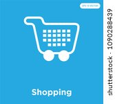 shopping vector icon isolated...