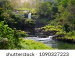 majesitc pee pee falls... | Shutterstock . vector #1090327223