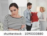 negative emotions. angry... | Shutterstock . vector #1090333880