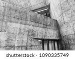 modern building abstract... | Shutterstock . vector #1090335749