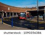 london uk   march 25 2018  bus...   Shutterstock . vector #1090356386