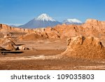 volcanoes licancabur and... | Shutterstock . vector #109035803