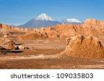 volcanoes licancabur and... | Shutterstock . vector #109035803