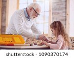 interesting occupation. smart...   Shutterstock . vector #1090370174