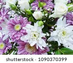 flowers roses as a background | Shutterstock . vector #1090370399