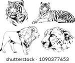 vector drawings sketches...   Shutterstock .eps vector #1090377653