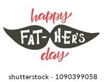 handlettering happy father's... | Shutterstock .eps vector #1090399058