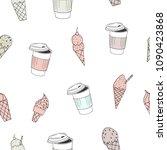 vector illustration. stylized... | Shutterstock .eps vector #1090423868
