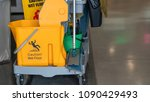 daily cleaning equipment | Shutterstock . vector #1090429493