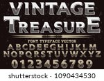 font handcrafted typeface... | Shutterstock .eps vector #1090434530