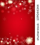 2013 new year postcard. vector... | Shutterstock .eps vector #109044344