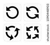 arrow reload vector icons...