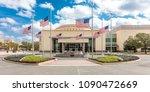february 28  2018   college... | Shutterstock . vector #1090472669