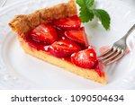 portion of homemade pastry... | Shutterstock . vector #1090504634