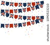 united kingdom celebration... | Shutterstock .eps vector #1090523210