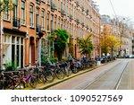 amsterdam  netherlands  ... | Shutterstock . vector #1090527569