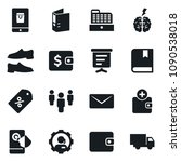 set of simple vector isolated... | Shutterstock .eps vector #1090538018