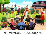 a vector illustration of... | Shutterstock .eps vector #1090538540